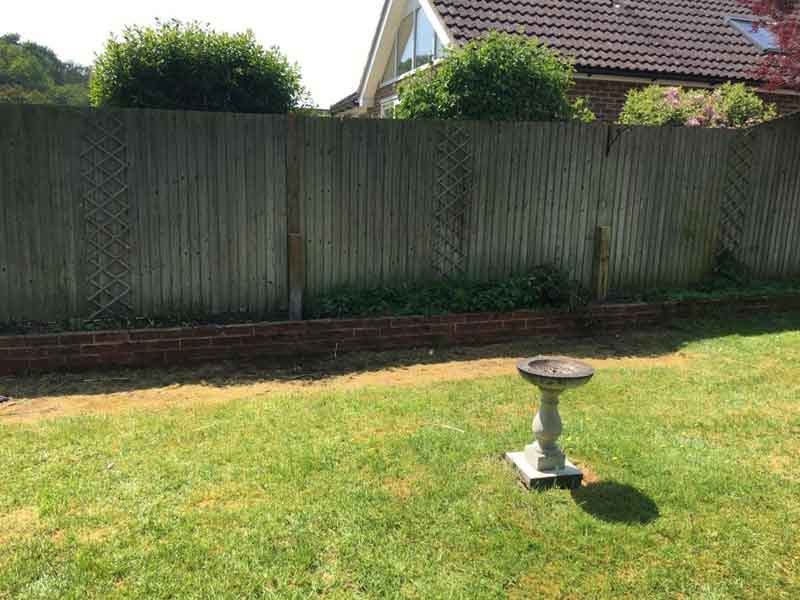 Fence Repairs After